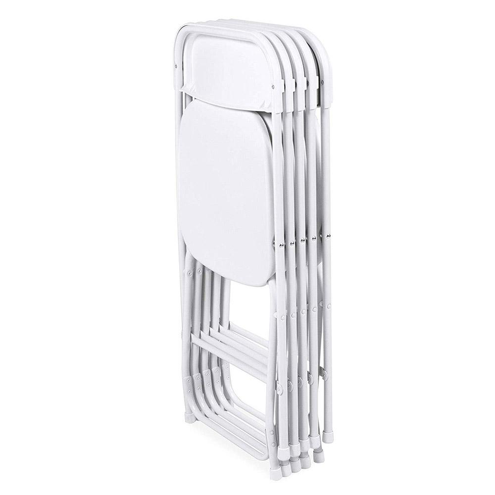 fehér összecsukható szék