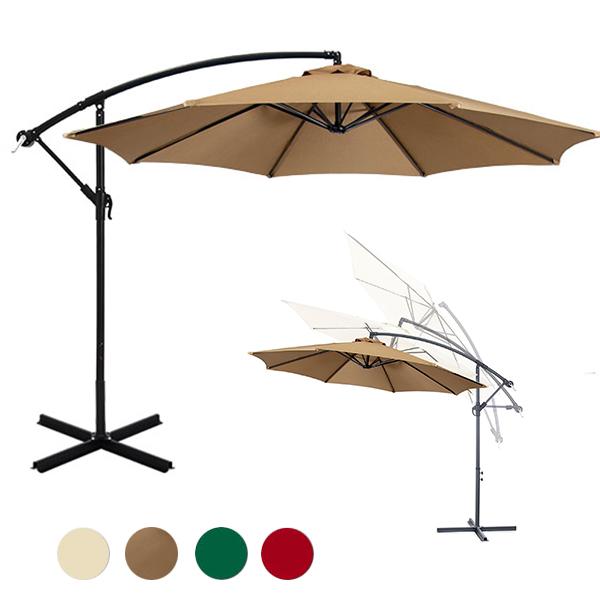 Függő napernyő 2,7 m több színben