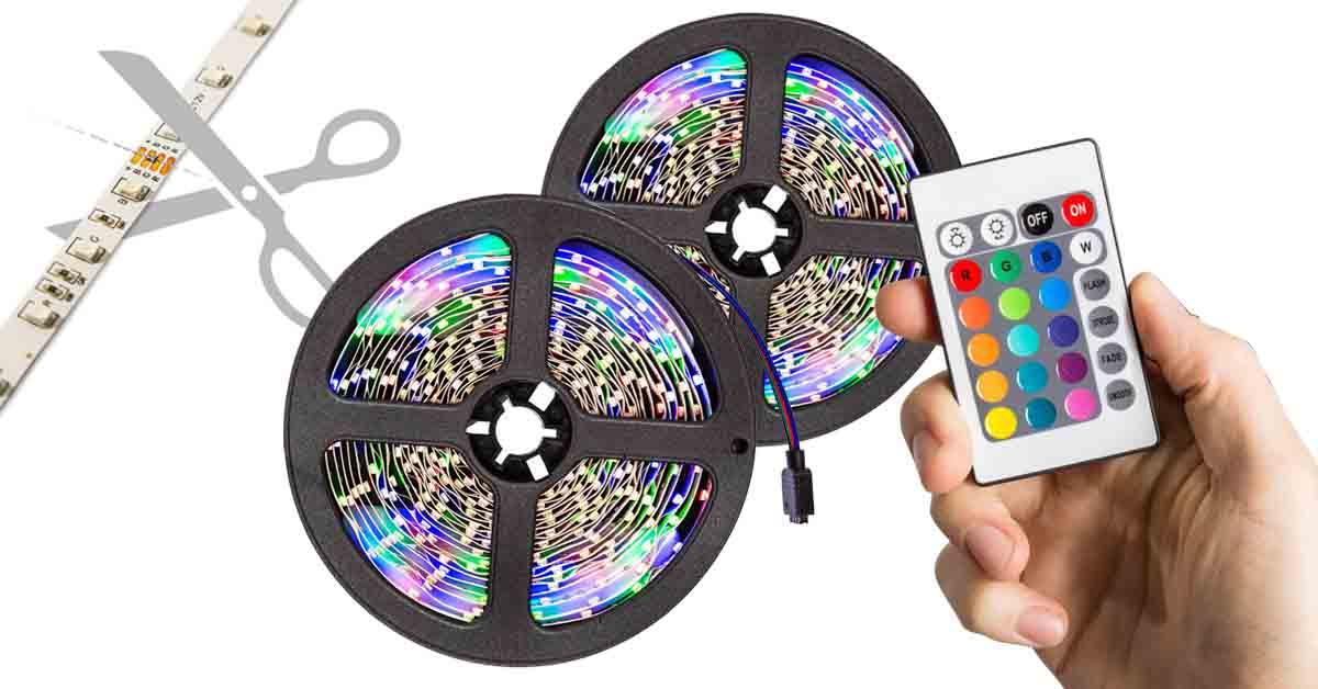 LED szalag távirányítóval