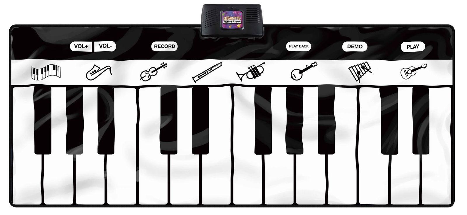 Zongora játszószőnyeg 8 féle hangszer hanggal