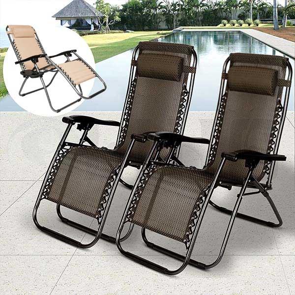 Zéró gravitáció kerti székek